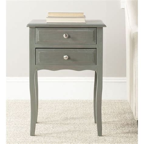 Grey Accent Table Lori Blue Grey Accent Table