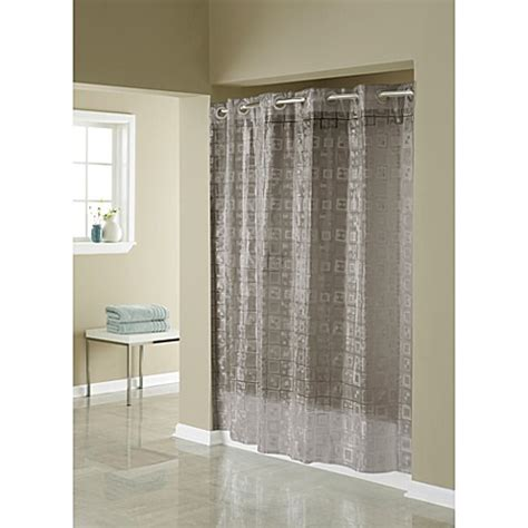 where to buy hookless shower curtains buy hookless 174 3d smoke puzzle 71 inch w x 74 inch l shower