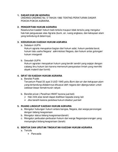 Hukum Agraria Jilid 1 dasar hukum agraria