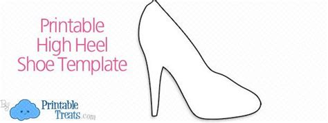 pattern for paper high heels 12 best images about baby shower ideas on pinterest