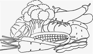 vegetables coloring pages free coloring pages of vegetable gardens