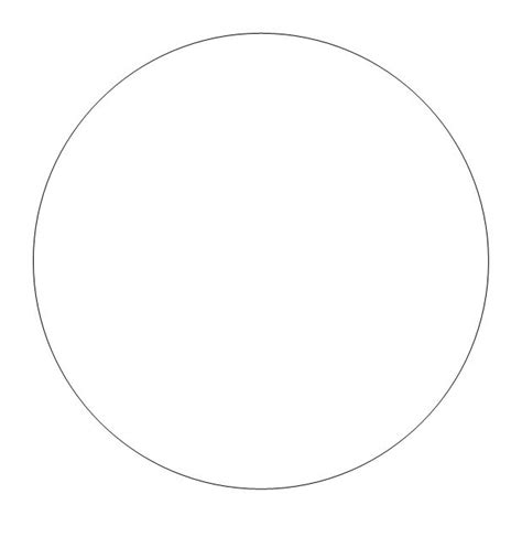 small template to print free printable circle templates large and small stencils