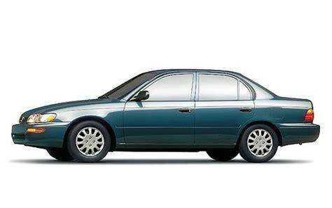 93 97 Toyota Corolla Toyota Corolla Through Ages Ipost