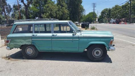 1971 Jeep Wagoneer For Sale 1971 Jeep Grand Wagoneer 401 V8 Auto For Sale In
