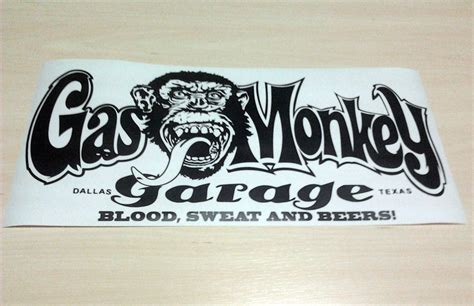 Gas Monkey Garage Decal by Gas Monkey Stickers Images