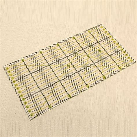 Rulers For Patchwork - sale 30 15cm clear acrylic quilt ruler patchwork