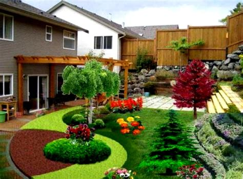 Landscaping Design Ideas For Backyard Beautiful Backyard Landscapes Landscaping Yard Design Homelk