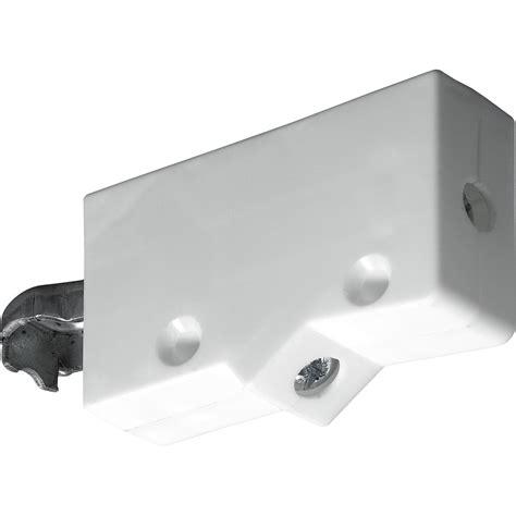lot de 2 suspensions pour meuble haut plastique brut