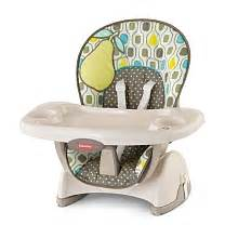 chaise haute fisher price space saver poire fisher