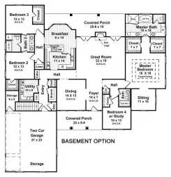 4 bedroom ranch house plans with basement house plans with finished basement smalltowndjs