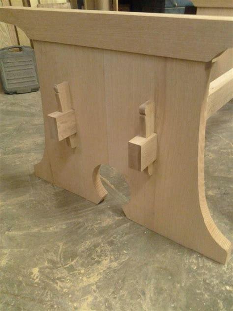 stickley trestle table   philfranklin  lumberjocks