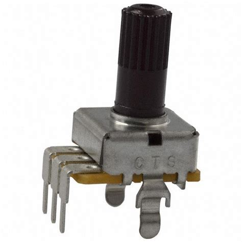 resistor in parallel with potentiometer 296ud252b1n cts electrocomponents potentiometers variable resistors digikey