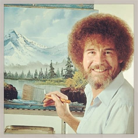 happy birthday bob ross by c m mebetopher on mobypicture