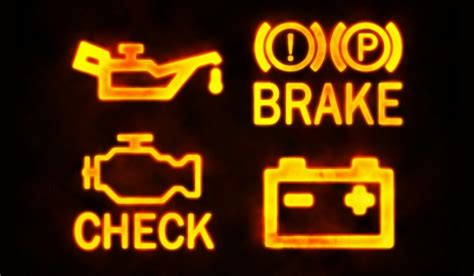 Warning Lights On A Car by New Mot Require Working Warning Lights