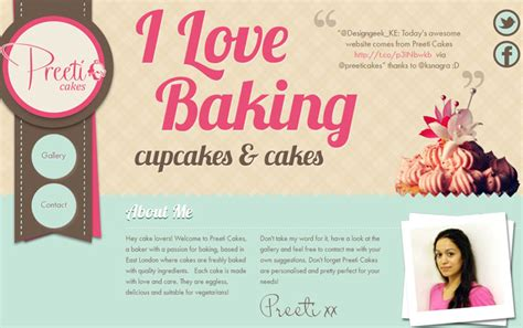 Cake Websites by Pin Bakery Website Design Pictures On