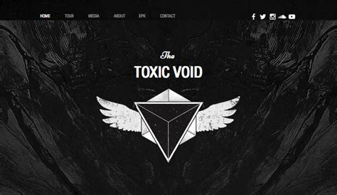 band templates band website templates wix
