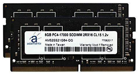 Memory Sodimm Vgen Ddr4 16gb Pc 17000 Pc 19200 adamanta 16gb 2x8gb laptop memory upgrade for lenovo ideapad thinkpad ddr4 2133mhz pc4 17000