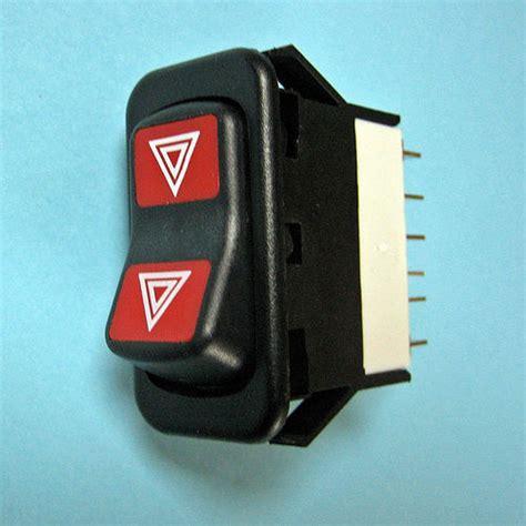 rocker hazard switch