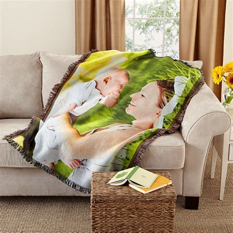 Customized Blankets With Photos by Personalized Throw Blankets At Personal Creations