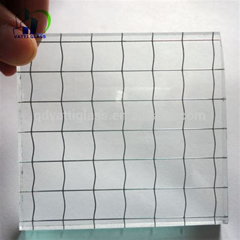 Glas Mit Draht by 6mm Safety Mesh Wired Clear Glass Wired Glass Pattern