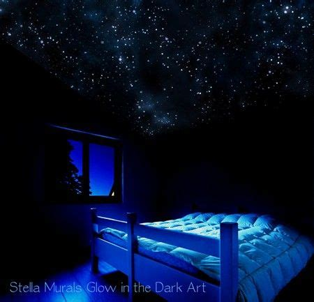 glow in the dark bedroom glow in the dark star ceiling things for the home