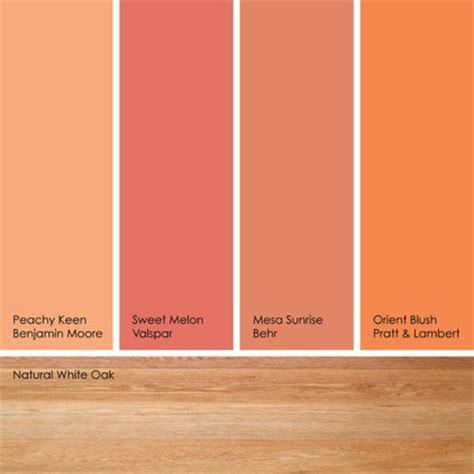 hues of orange suggested orange paint picksif you like soft orange hues