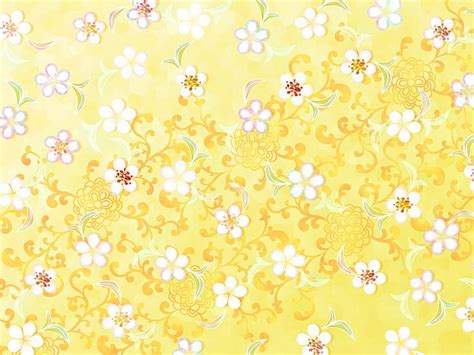 yellow japanese pattern sweet floral patterns floral design background 1920 1600