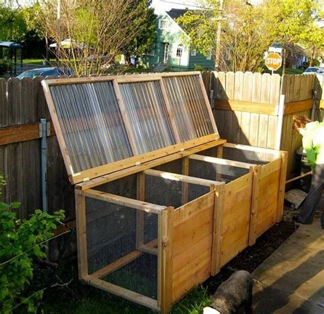 Composting Apartment Therapy The Unwaste Station A Cool Diy Compost Bin