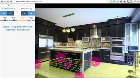 renovli home renovation software floor editor tutorial