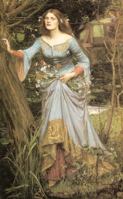 by john william waterhouse ophelia john william waterhouse wikiart org