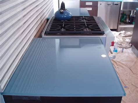 Painted Glass Countertops by Backpainted Glass Countertops Custom