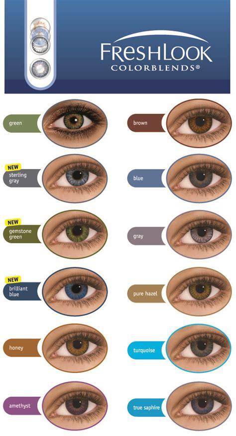 Backpack 3in1 Dk freshlook colorblends coloured contact lenses