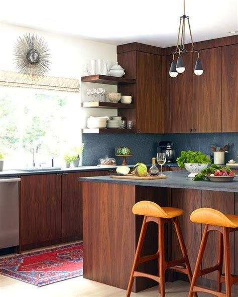 mid century modern kitchen ideas picture of stylish andatmospheric mid century modern