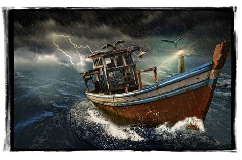 old vintage boat old boat in storm free stock photo public domain pictures