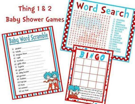 Thing 1 Thing 2 Baby Shower by Thing 1 Thing 2 Baby Shower 1 2 Baby