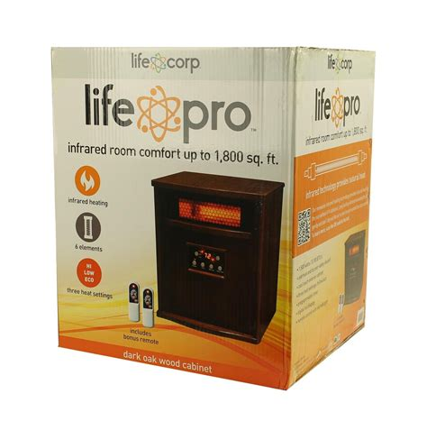 infrared ls for healing lifesmart lifepro ls 1000hh 1 500w 1 800 sq ft portable