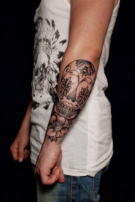 tattoo placement jobs skull tattoo on forearm tattoos i like pinterest