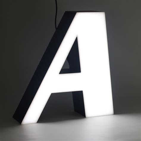 lettere led letter a ilute d o o