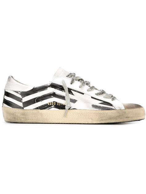 golden goose sneakers golden goose deluxe brand sneakers in white