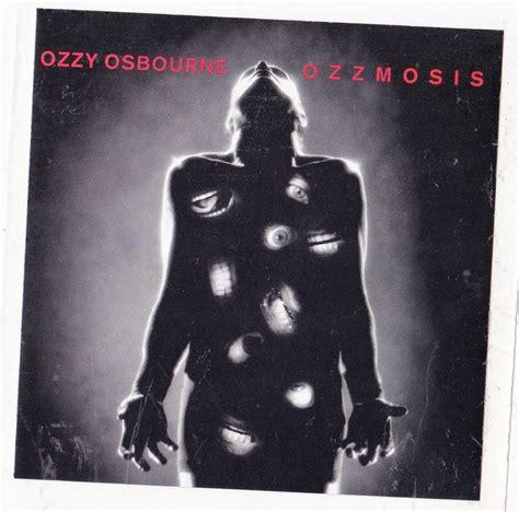Cd Ozzy Osbourne Ozzmosis ozzy osbourne band sticker album cover metal decal black ozzmosis new album