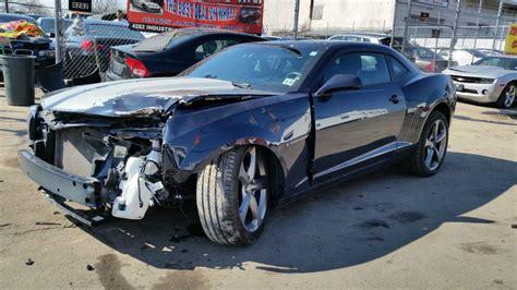 wrecked camaro wrecked ls7 corvette autos post
