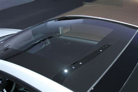 detroit  glass roof mustang  photo gallery autoblog