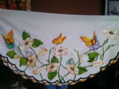 dibujos navideños para pintar en tela manteles imagenes de flores para pintar manteles imagui