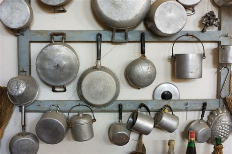 Thing To Hang Pots And Pans On Hook Pots And Pans On The Wall 9 Ingenious Space Saving