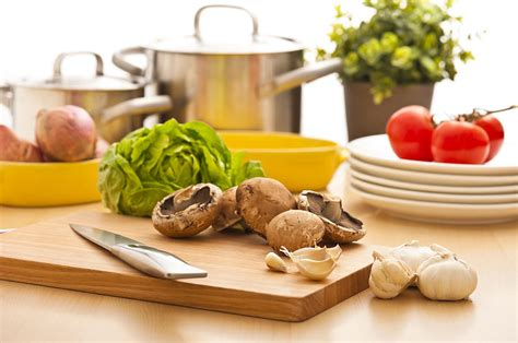 preparation kitchen kitchen still life preparation for cooking photograph by