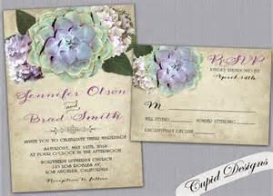 succulent wedding invitations succulent wedding invitations botanical wedding invite rustic