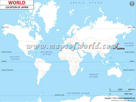 japan world map image where is japan location of japan