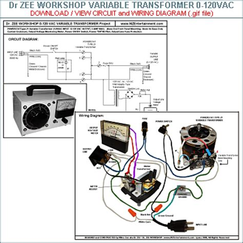 variac variable transformer wiring diagram variac get