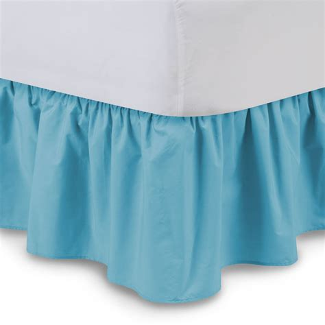 bed skirt queen king bed skirts bed skirts american blue ticking stripe