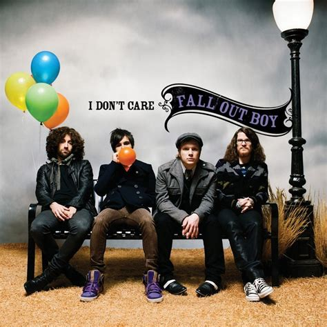 Fall Out Boy I fall out boy quot i don t care quot fall out boy photo 2249835 fanpop